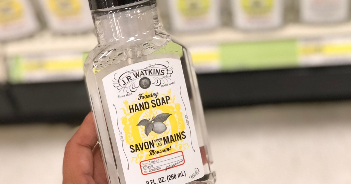 jr watkins hand soap