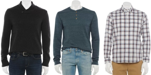 Sonoma Goods for Life Men's Apparel as Low as $3.22 + FREE Shipping for Select Cardholders