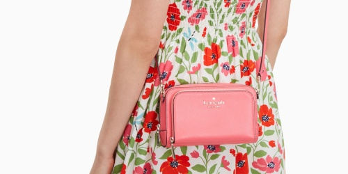 Kate Spade Dual Zip Around Crossbody Only $59 Shipped (Regularly $239)