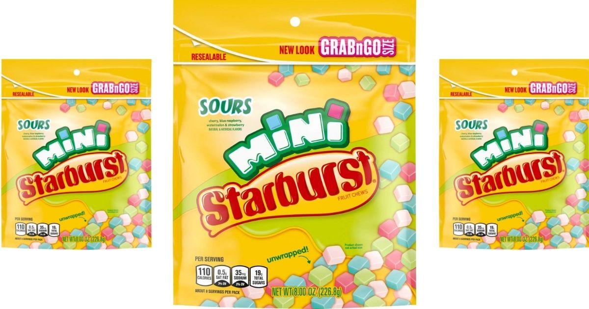 starburst candy bags
