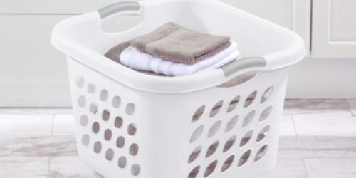 Sterilite Laundry Basket Just $5 on Walmart.com (Regularly $13)