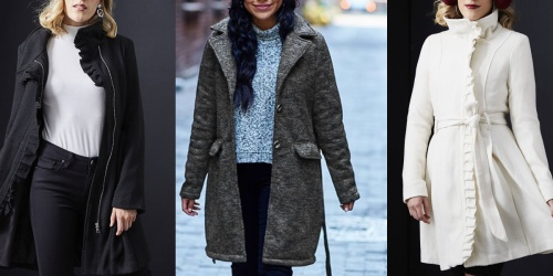 Up to 90% Off Women's Jackets on Zulily | Steve Madden, Jessica Simpson & More