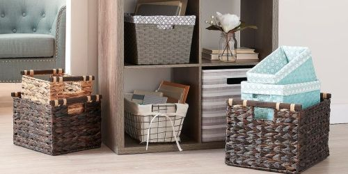 Highly Rated Storage Bins & Baskets from $4.67 Shipped for Select Kohl's Cardholders