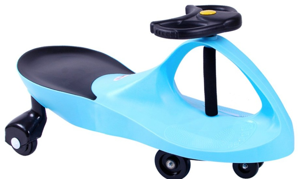 swing car blue