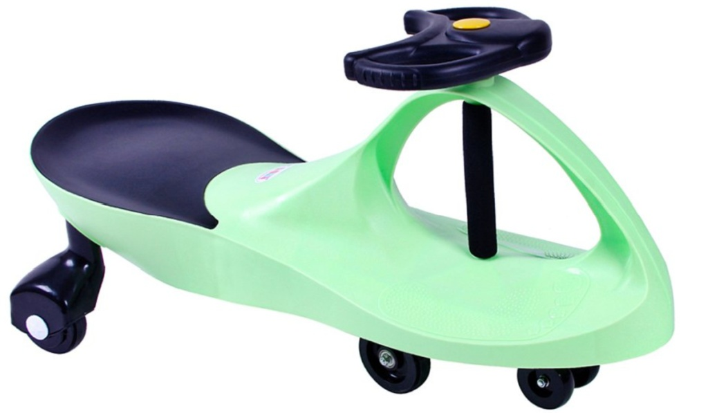 swing car green