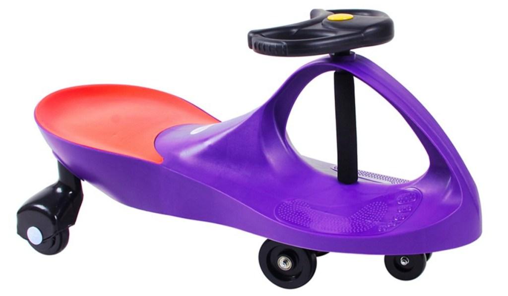 swing car purple