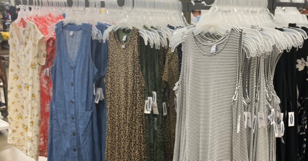 swing dresses at old nvy in store