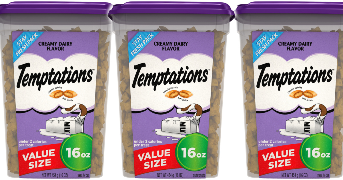 stock images of cat treats in canisters