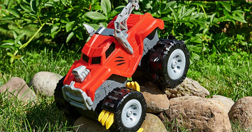 red toy monster truck