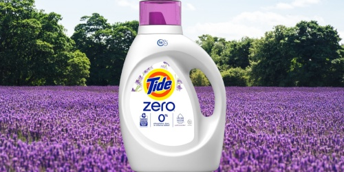 3 Tide Zero Laundry Detergents Just $23 After Target Gift Card | Only $7.79 Each