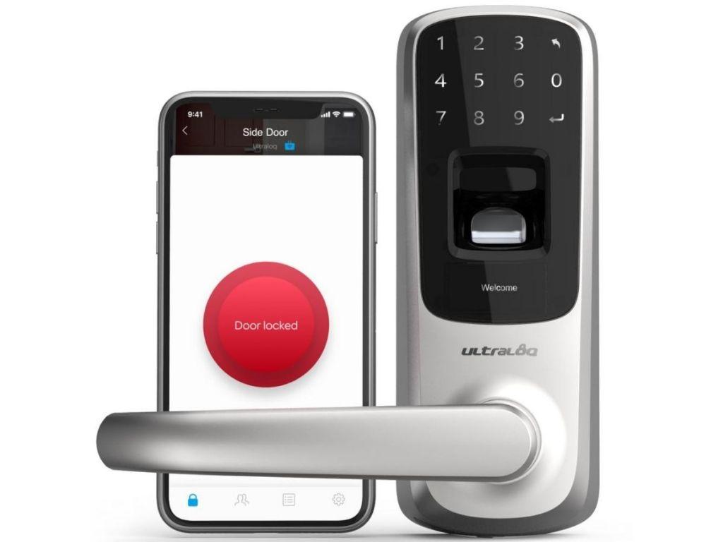 ultraloq door lock and phone app