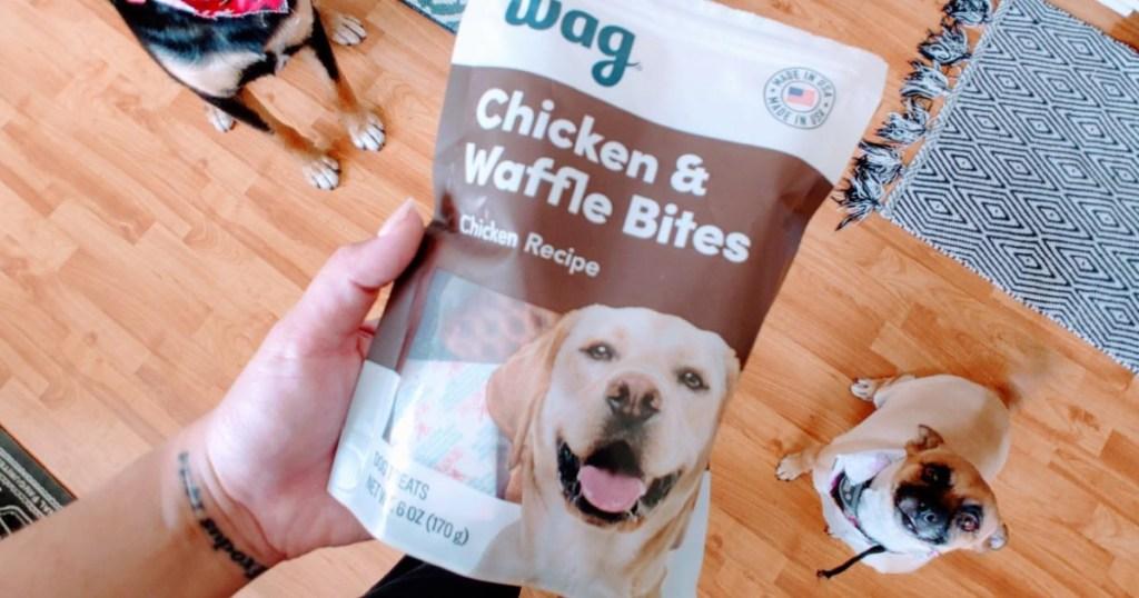 wag waffle treats