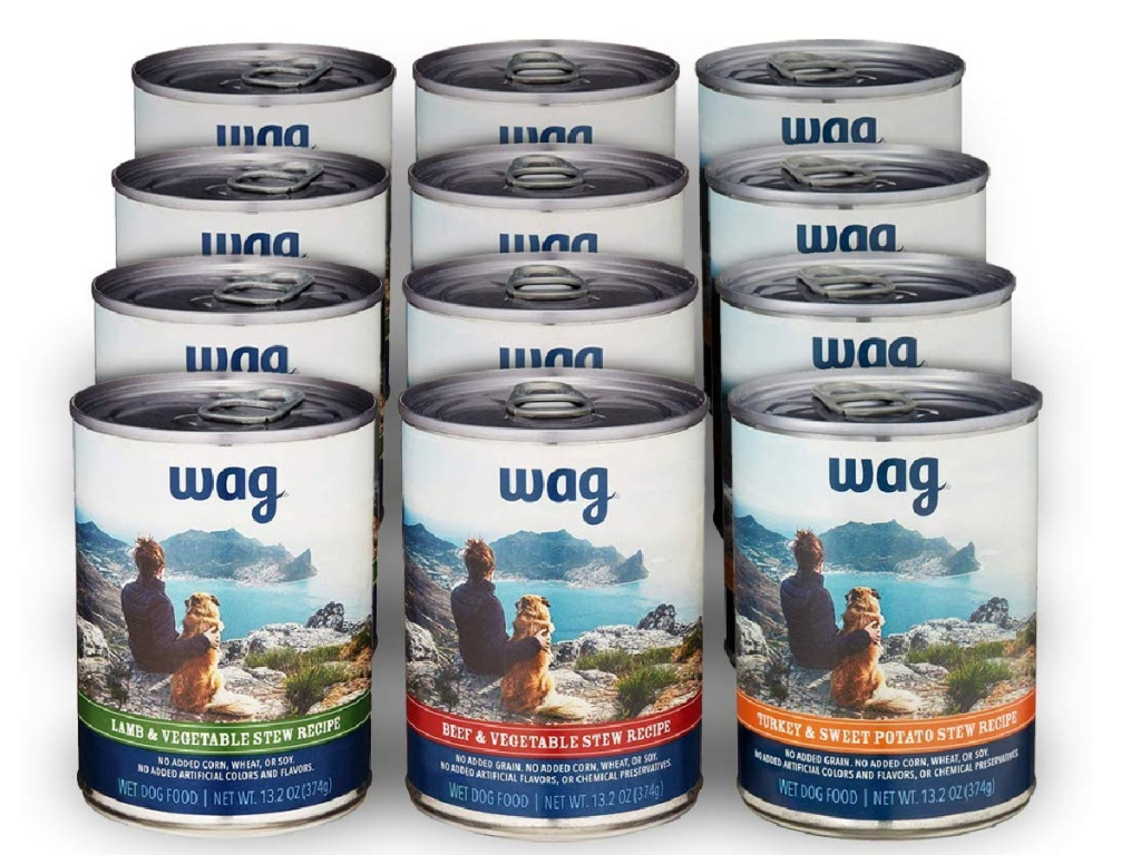 wag wet food