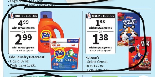 Walgreens Ad Scan for the Week of 5/16/21 – 5/22/21 (We've Circled Our Faves!)