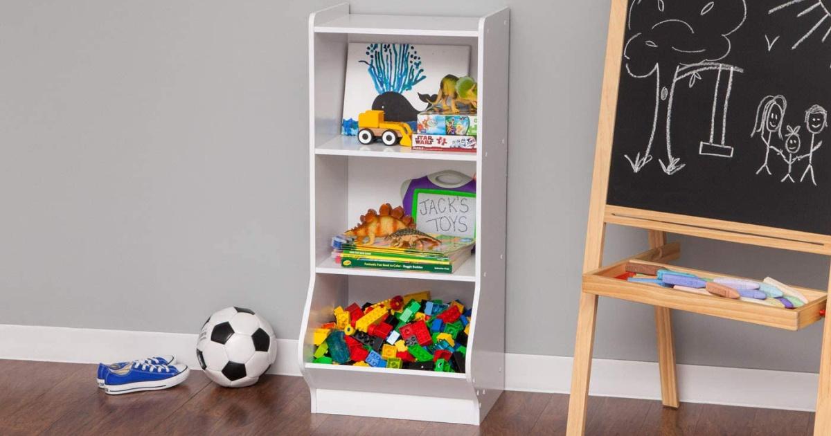 white 3 tier storage organizer shelfs