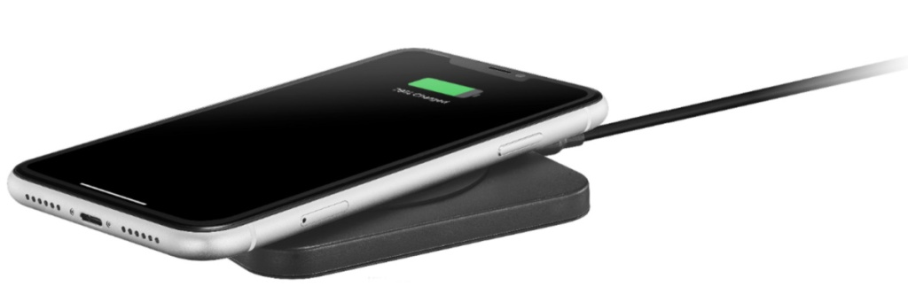 wireless charger w: phone on it