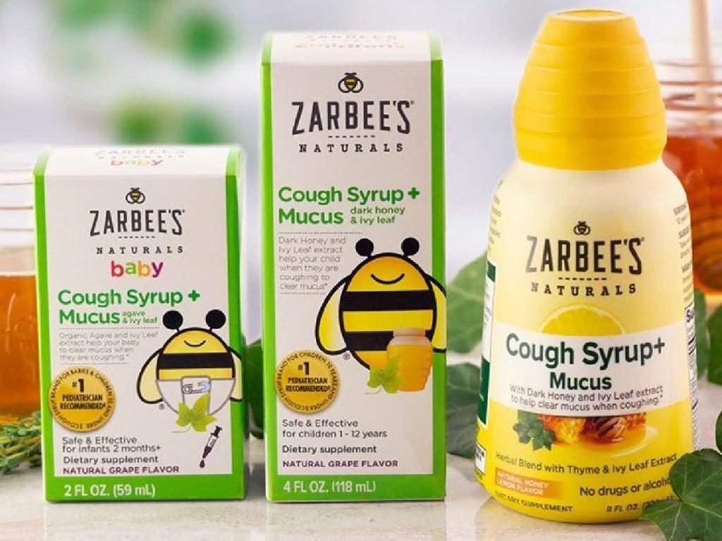 3 zarbees cough medicine