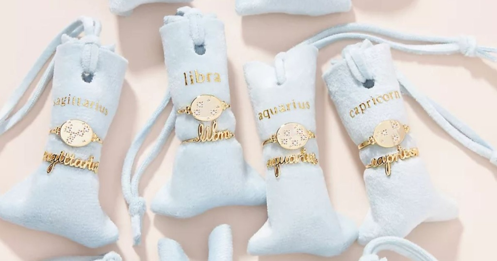 ring pillows with gold rings on them