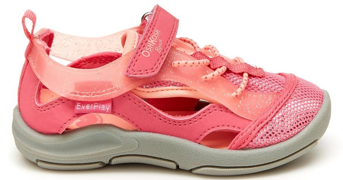 OshKosh B'gosh kids' water shoe (pink)