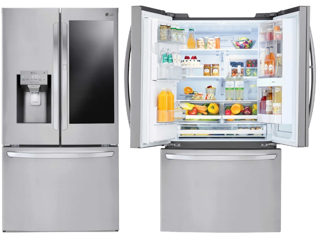 LG 28 cu. ft. Wi-Fi Enabled InstaView Stainless Steel Refrigerator
