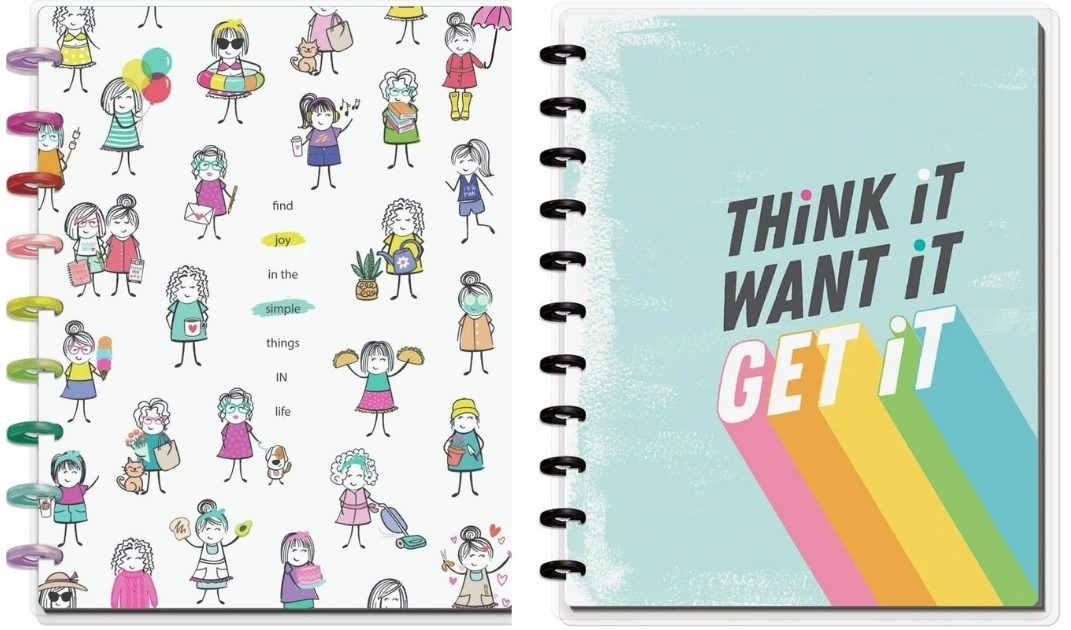 Notepads from The Happy Planner