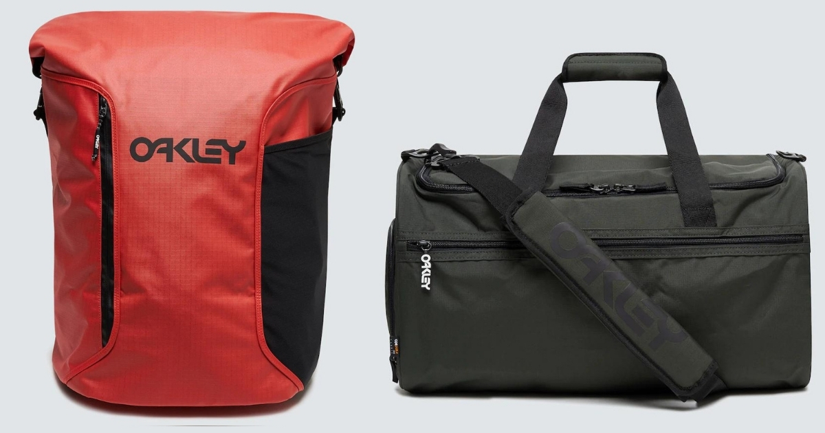 oakley surf and duffle bags