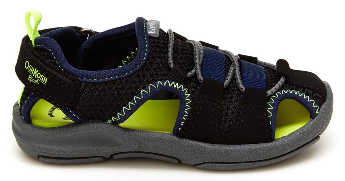 OshKosh B'gosh kids' water shoe (black)