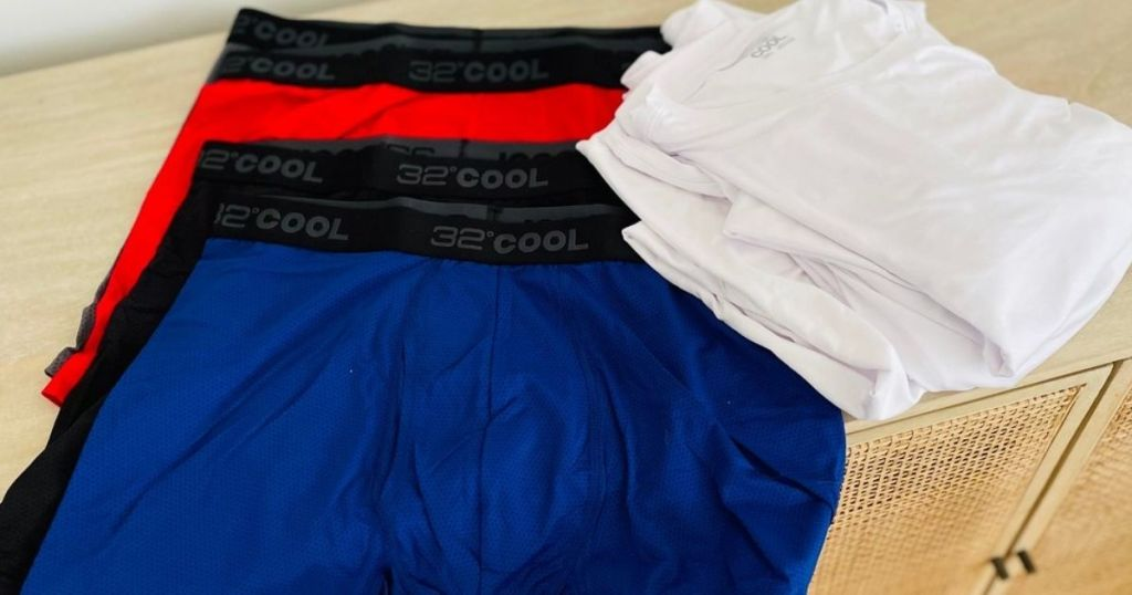 32 degrees boxers and shirts