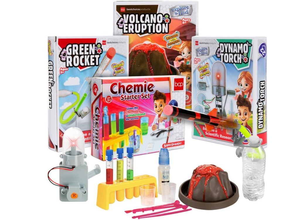 variety of science project kits