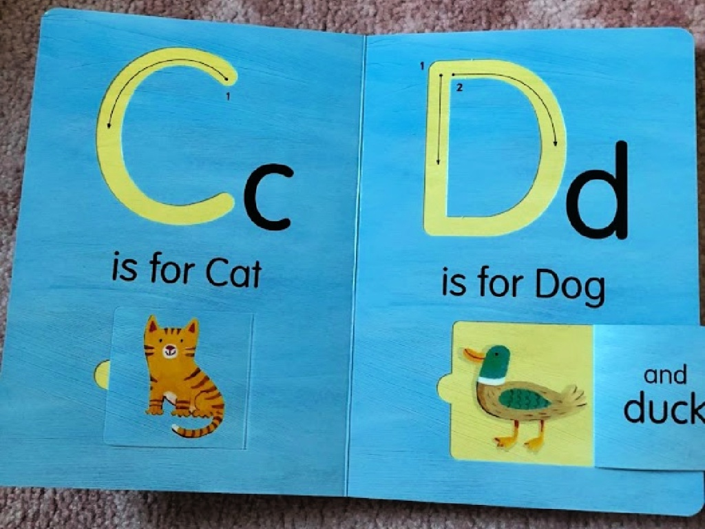 A is for Apple Board Book