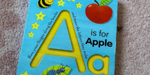 A is for Apple Board Book Only $4 on Amazon or Walmart.com (Regularly $8)