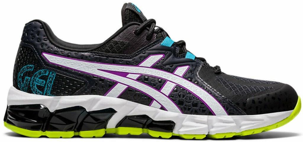 women's multicolor asics running shoes