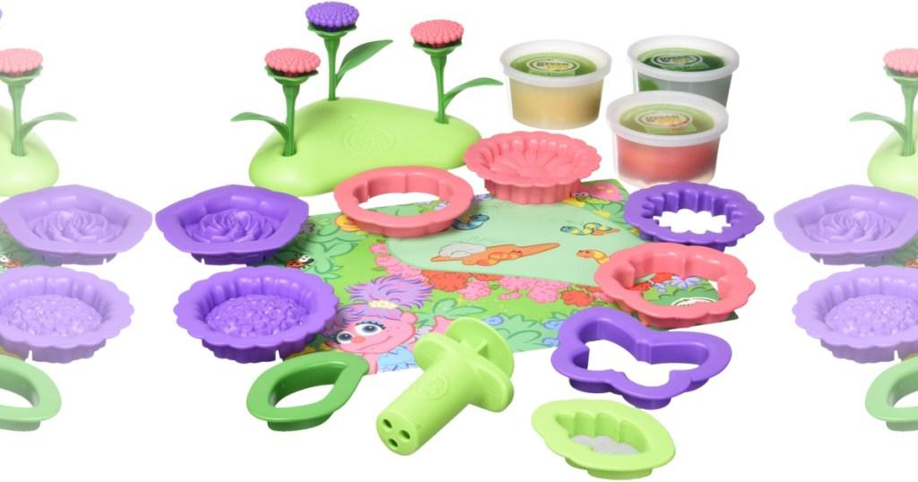 Abby Flower Maker Sesame Street Dough Set