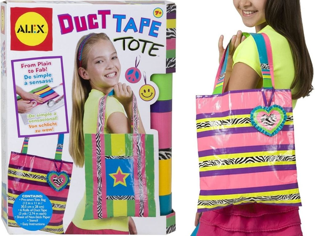 Alex Toys Duct Tape Tote Bag