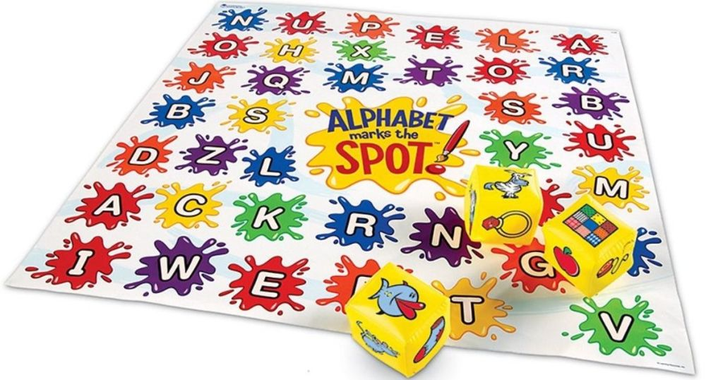 Alphabet Game and blocks