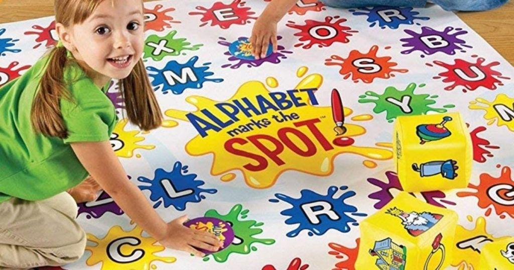 kids playing an Alphabet game
