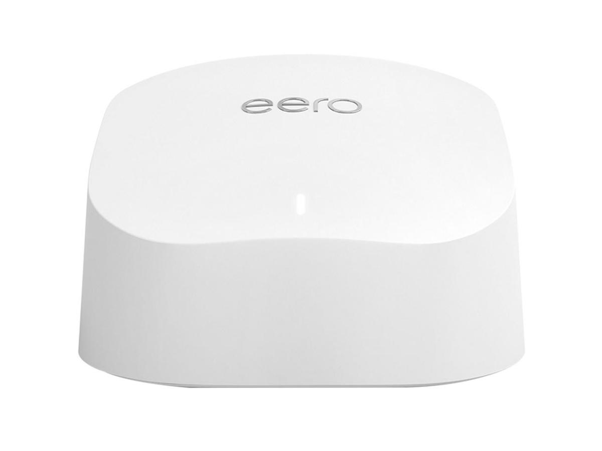 Amazon eero 6 Dual-Band Mesh WI-FI 6 Router white
