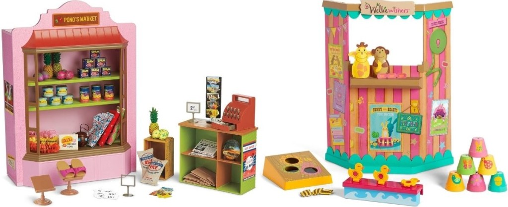 American Girl Market and Carnival Games