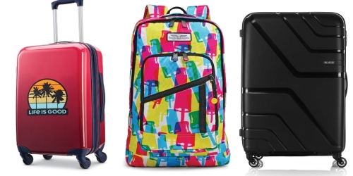 American Tourister Backpacks & Luggage from $15.99 (Regularly $60)