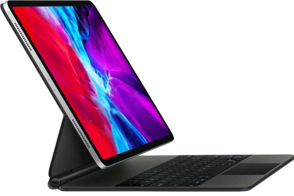 ipad connected to magic keyboard