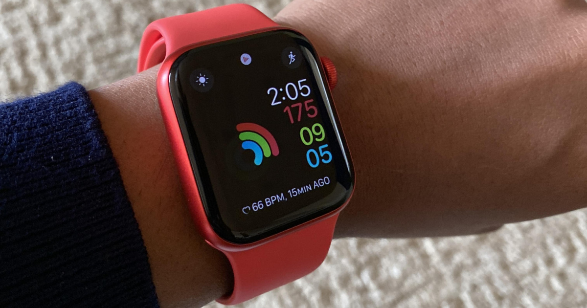 Apple Watch Series 6 (GPS) 40mm in Red