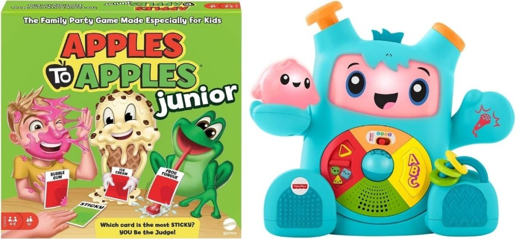 Apple to Apples and Rockit Toy