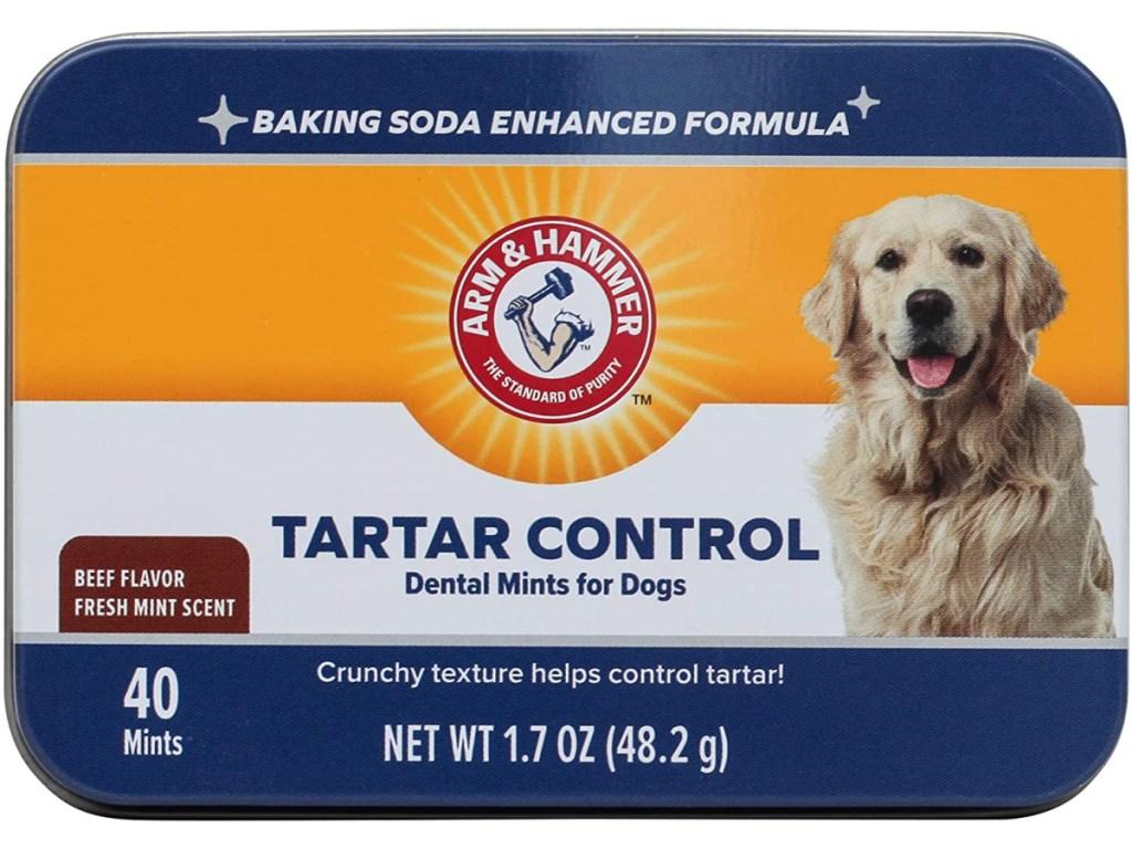 Arm & Hammer for Pets Tartar Control Dental Mints can
