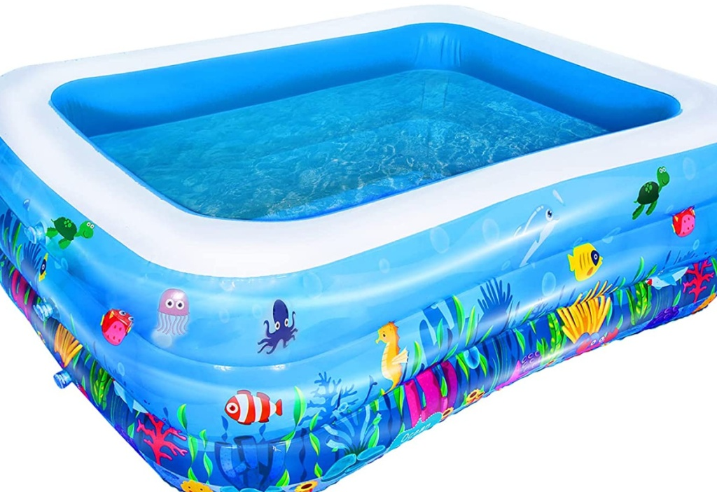 AsterOutdoor Inflatable Swimming Pool