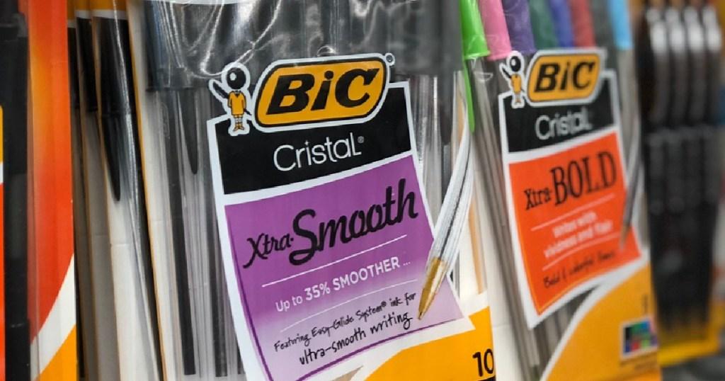 BIC Xtra Smooth Cristal Pens