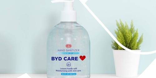Hand Sanitizer Only 10¢ w/ Free Pickup at Office Depot