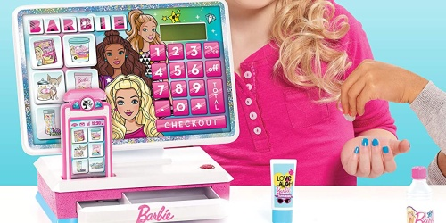 Barbie Interactive Cash Register Toy Only $9.46 on Amazon (Regularly $20)