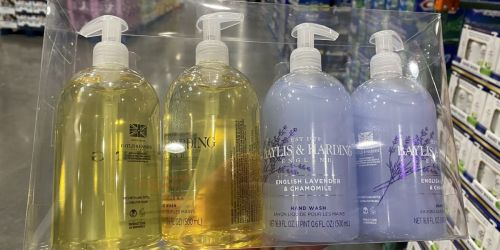 Baylis & Harding 16.9-Ounce Hand Soap 4-Pack Only $4.99 at Costco | In-Club Only