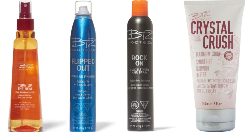 Beyond the Zone Hair Products