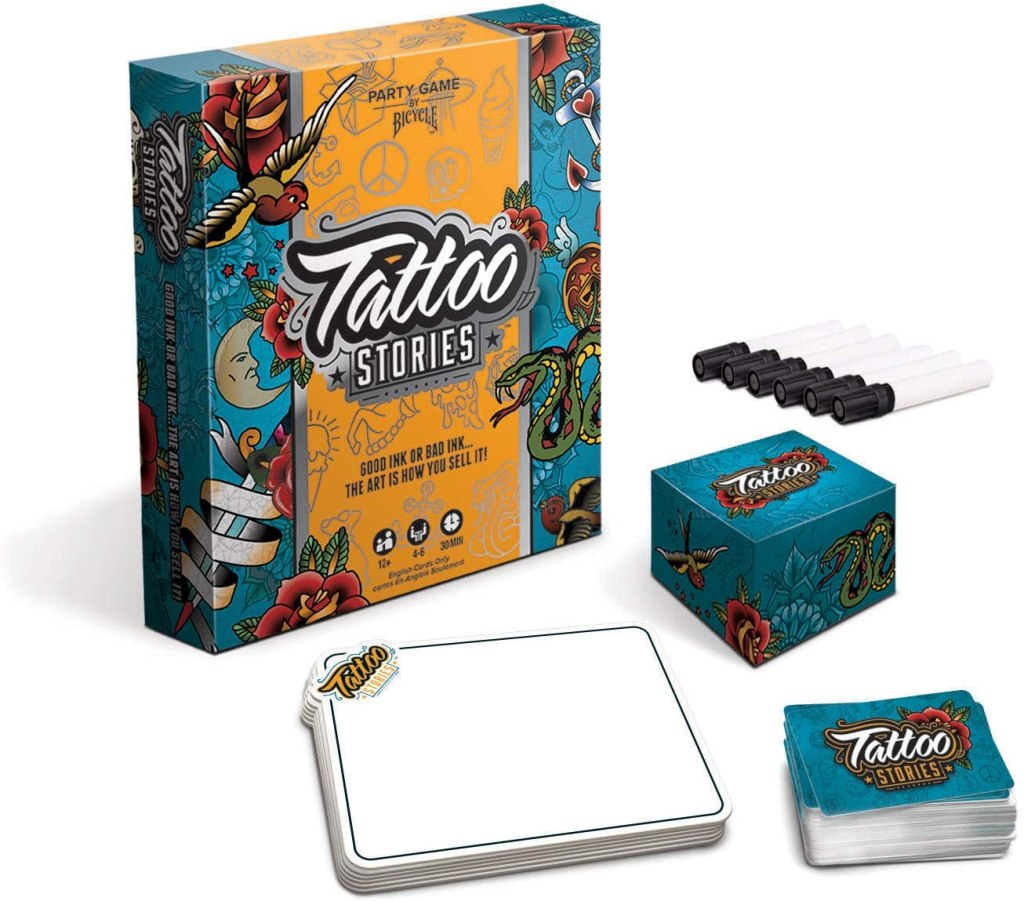 Bicycle Tattoo Stories Board Game